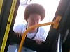 Seriously Menacing Dude Attacks A Bus