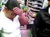 Shoplifter Is Made To Empty Out Her Pockets