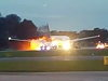 Singapore Airline Flight That Caught On Fire