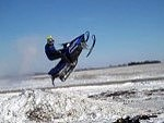 Snow Mobiler Lands Hard And Its Pretty Funny