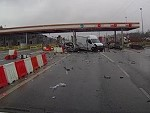 Speeding Semi Causes Toll Carnage