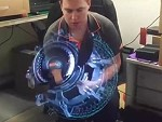 Spinning 3D Led Hologram Thingy Is Awesome