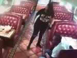 Stupid Bitch Steals A Waitresses Tip Off Another Table