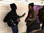 Subway Buskers Do A Seriously Awesome Beatles
