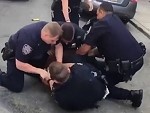 Takes 6 Cops To Bring Down One Guy