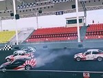 That's Some Seriously Impressive Dual Drifting