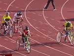 The Disabled 100 Metres WTF