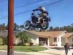 They Build A Ramp To Jump A Harley