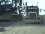 Truck Learns The Absolute Worst Place To Breakdown Is Train Tracks