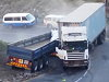 Truck Loses Its Brakes Coming Down A Hill Carnage Ensues
