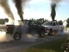 Truck Vs Truck Burnout Gets A Little Bit Smoky