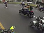 Trying To Save His Mates Bike Proves No Good Deed Goes Unpunished