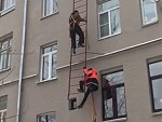 Turns Out The Ladder Wasn't Rated For Two People