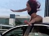Twerking On A Moving Car Because Spring Break In Miami