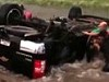 Two Babies Saved From Overturned Car Stuck In A Texas Flood