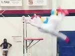 Unicorn On The Horizontal Bars