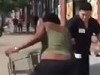 Waiters Try To Stop Skanks Who Did A Dine And Dash From Their 