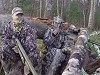 Well Camouflaged Hunters Become The Hunted