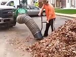 When You Need To Blower Vac A Crapload Of Leaves