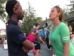 White Woman And Black Man Dumb Argument