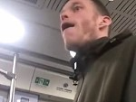 Whitey Told Off For Smoking On A Chinese Train Gets Angry