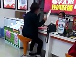 Woman Brings A Knife To Negotiate Her Mobile Contract