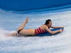 Woman Loses Her Bathers At The Wave Pool
