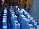 Woman Taking A Selfie Destroys A 200k Dollar Exhibit