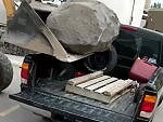 Wonder If Maybe The Boulder Exceeds The Weight Limit Of The Ute