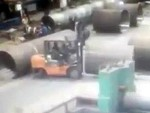 Worker Crushed To Death Through His Own Stupidity